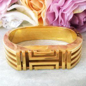 Tory Burch Gold Fit Bit Flex Bangle Bracelet